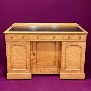 Victorian Satinwood Writing Desk