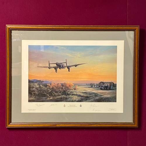 Thank You Canada Limited Edition Aviation Print image-1