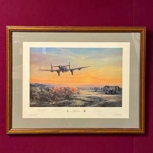 Thank You Canada Limited Edition Aviation Print