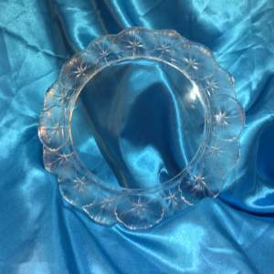 Lalique Glass Honfleur Pattern Charger