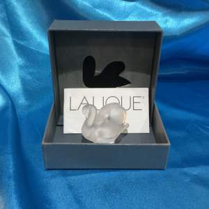 Lalique Glass Swan
