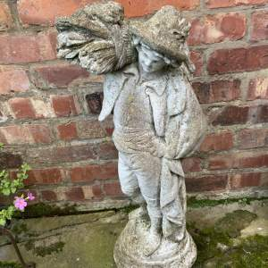 Lovely Old French Garden Statue  Superb Quality Nicely Aged