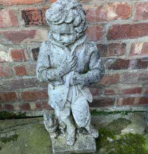 Old French Garden Statue of Superb Quality Nicely Aged