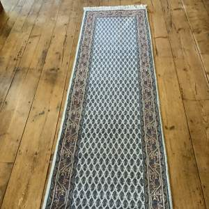 Superb Quality Hand Knotted Indo Persian Runner Mir Seraban