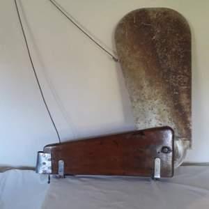 Large Vintage Kick-Up Rudder by Jack Holt OBE
