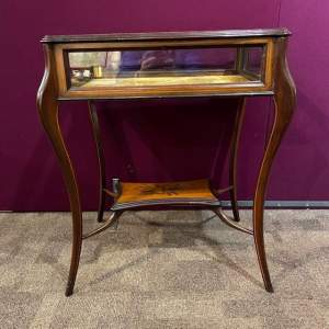 Edwardian Inlaid Satinwood Bijouterie Table