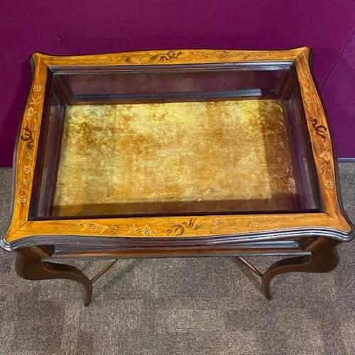 Edwardian Inlaid Satinwood Bijouterie Table image-3