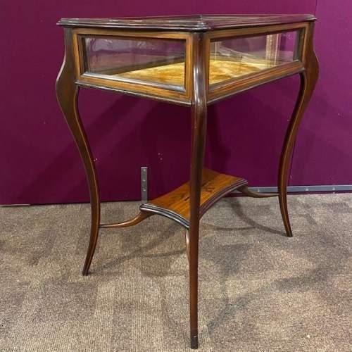 Edwardian Inlaid Satinwood Bijouterie Table image-4