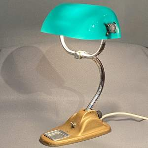 1930s Adjustable Bankers Lamp