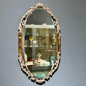 Atsonea French Rococo Style Wall Mirror