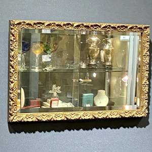 Small Giltwood Framed Rectangular Wall Mirror