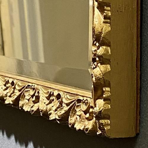 Small Giltwood Framed Rectangular Wall Mirror image-4