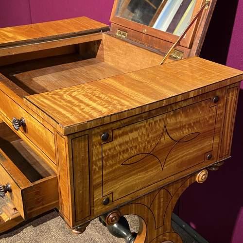 Regency Period Satinwood Vanity Table image-3