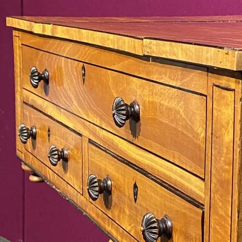 Regency Period Satinwood Vanity Table image-5