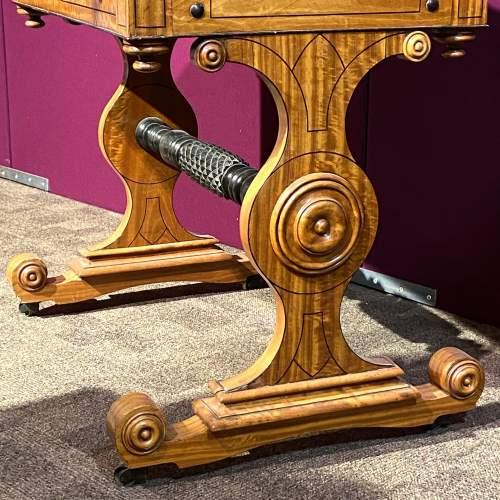 Regency Period Satinwood Vanity Table image-4