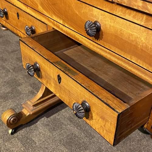 Regency Period Satinwood Vanity Table image-6