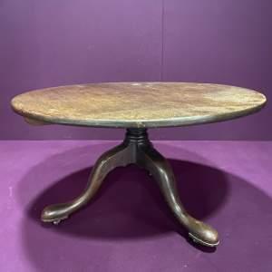Late Georgian Oak Supper Table