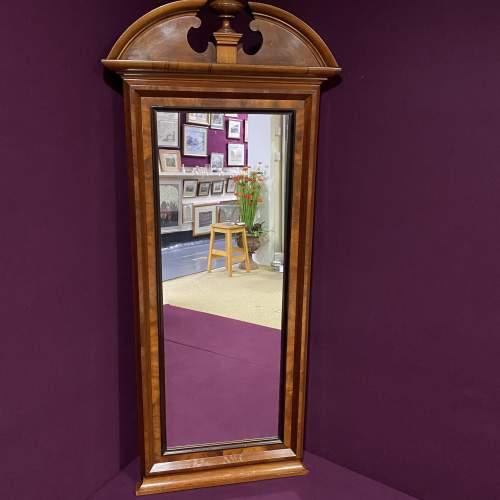 19th Century Continental Mahogany Framed Pier Glass Mirror image-2
