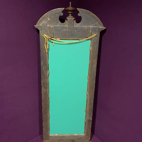 19th Century Continental Mahogany Framed Pier Glass Mirror image-5