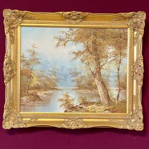 Landscape Oil on Canvas Painting