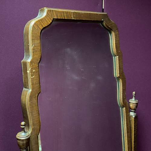 Edwardian Mahogany Cheval Mirror image-3