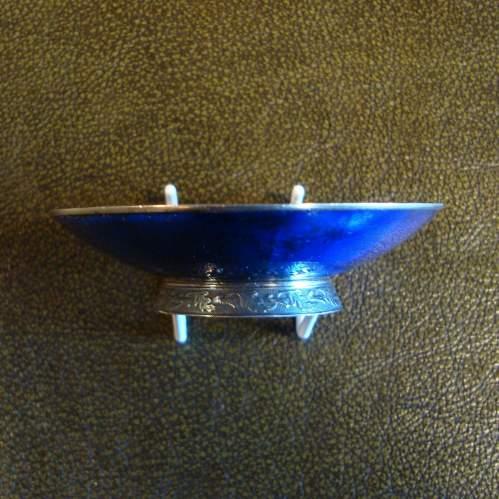 Sterling Silver Enamel Dish image-3
