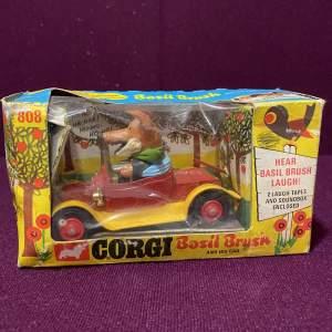 Corgi Basil Brush Car