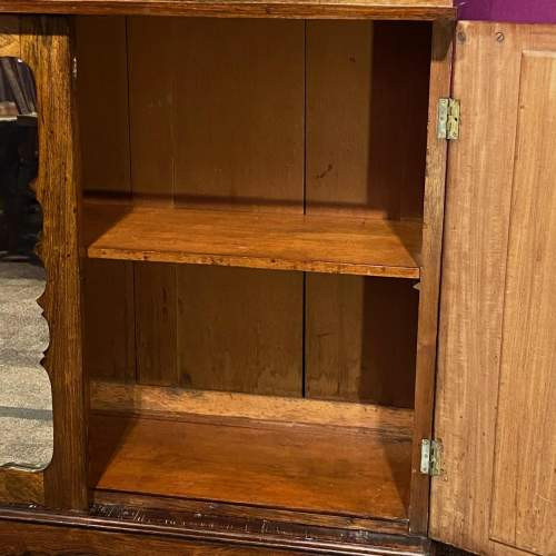 19th Century Rosewood Cabinet with Mirrored Glass Doors image-3