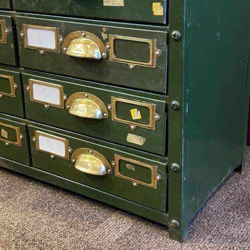 Bank of 64 Industrial Collectors Drawers image-6