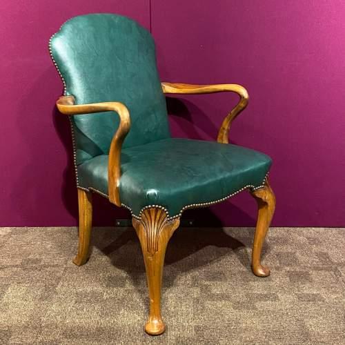 Early 20th Century Walnut Armchair image-1