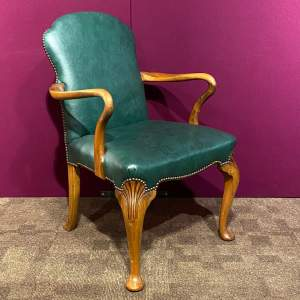 Early 20th Century Walnut Armchair