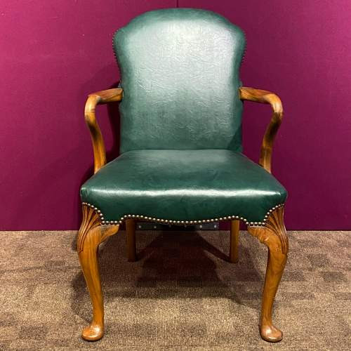 Early 20th Century Walnut Armchair image-2