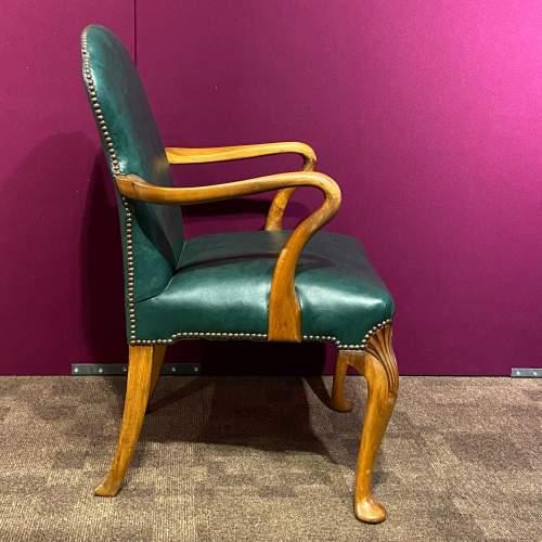 Early 20th Century Walnut Armchair image-3