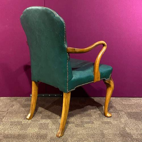 Early 20th Century Walnut Armchair image-4