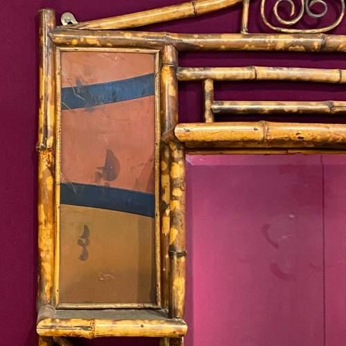 Victorian Bamboo Ornamental Mirror image-2