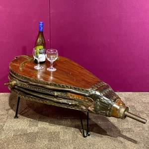 19th Century Pair of Bellows Coffee Table
