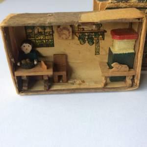 Rare WWII Matchbox Diorama