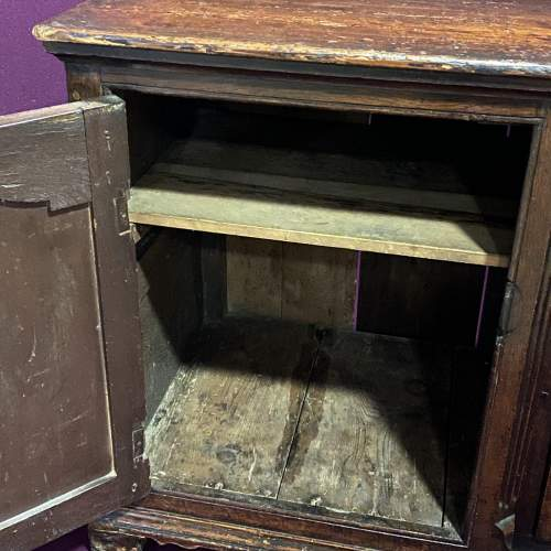 Georgian Oak and Pine Serving Dresser image-3