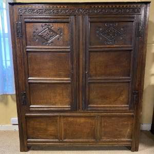 17th Century Oak Yorkshire Livery Cupboard