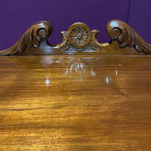Edwardian Walnut Bedside Cabinet image-2