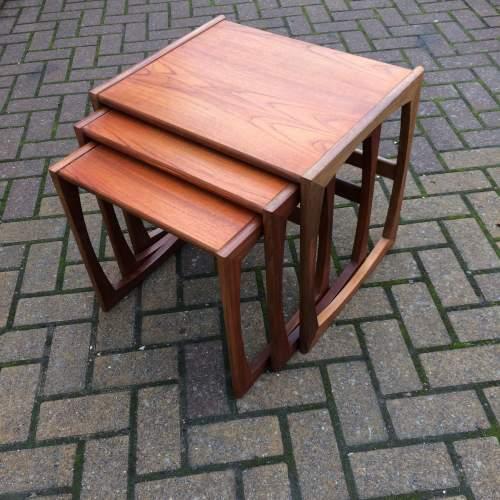 G Plan Quadrille Teak Nest Of Tables image-2