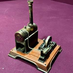 Early 20th Century Steam Engine