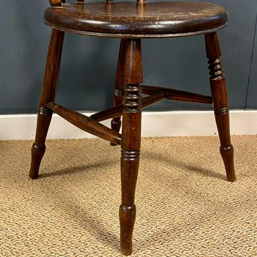 Matching Set Of Six Victorian Windsor Ash And Elm Chairs image-3
