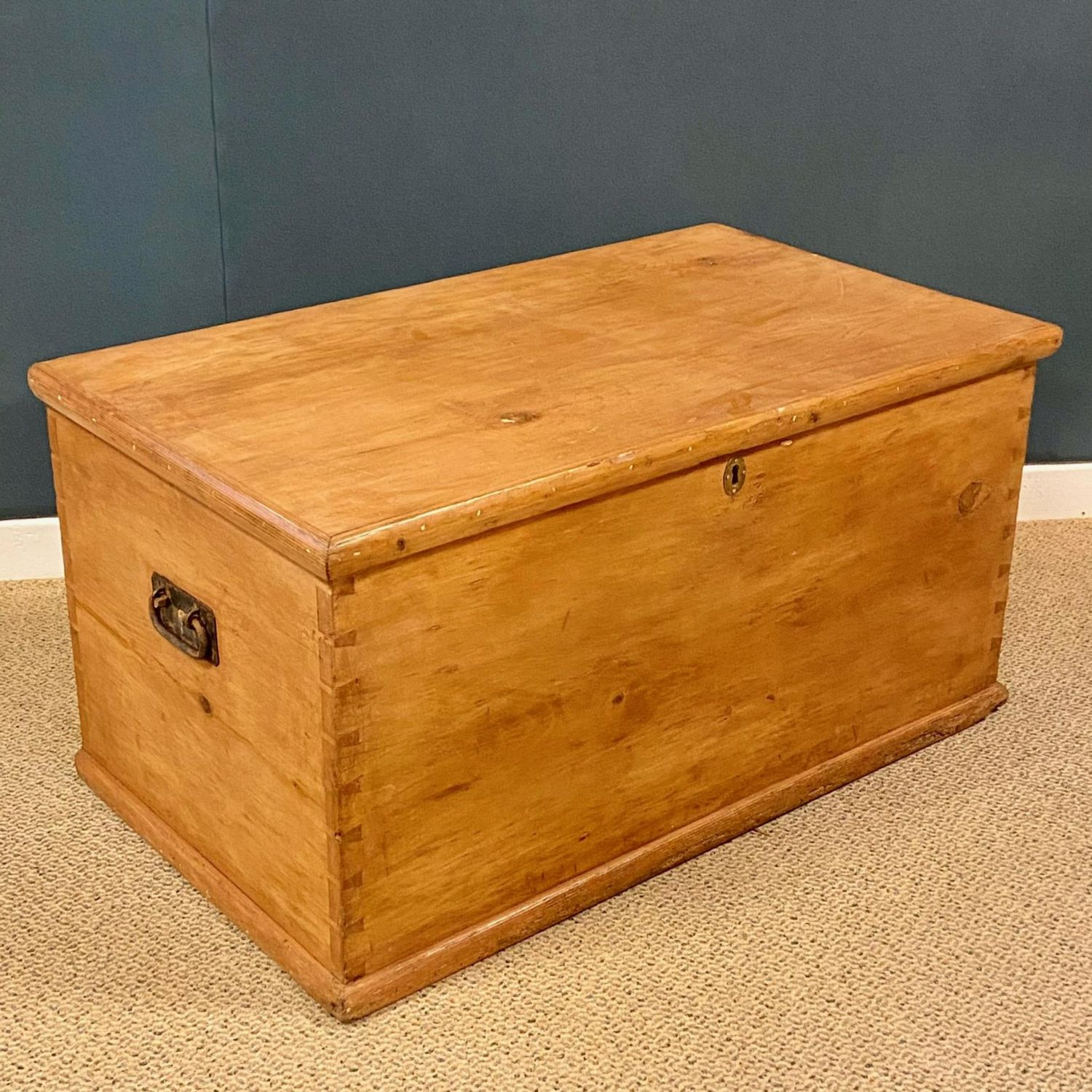 Victorian Pine Blanket Box Pine Chests Hemswell Antique Centres