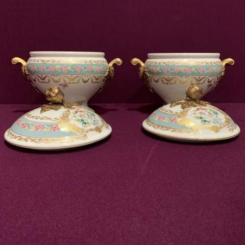 Pair of Decorative Continental Pottery Tureens image-2