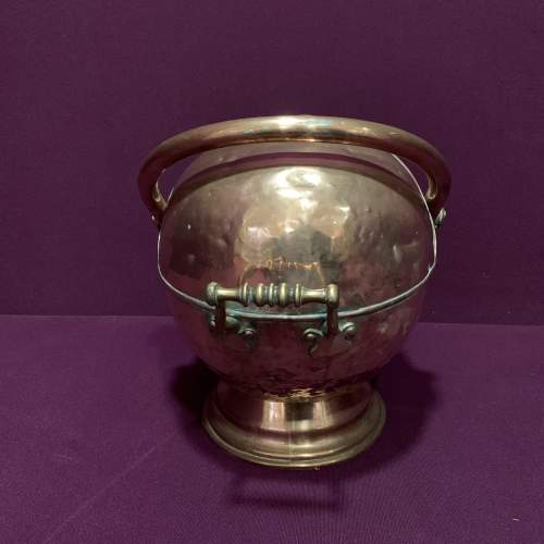 19th Century Copper Coal Helmet image-4