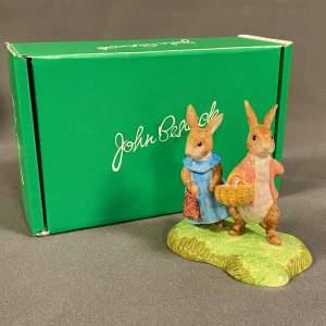 Beswick Flopsy And Benjamin Bunny
