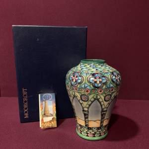 Moorcroft Meknes Vase by Beverley Wilkes
