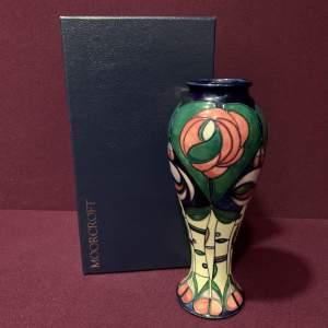 Moorcroft Pottery Mackintosh Vase