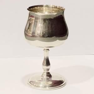 Commemorative Aston Villa FC Centenary Silver Goblet